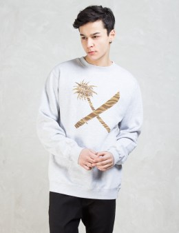 Us Versus Them Crosscut Crewneck Sweatshirt Picture