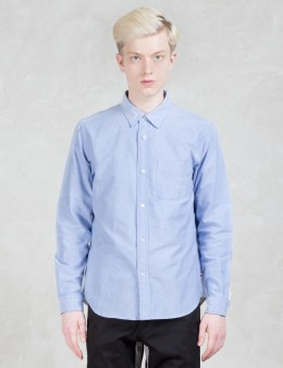 Head Porter Plus Two Tone Oxford L/S Shirt Picture