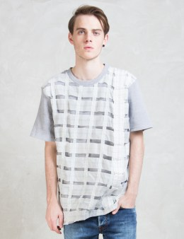 Christopher RAEBURN Remade Airbrake Hybrid T-shirt Picture