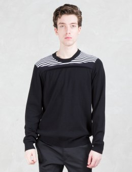 Opening Ceremony Reid Stripe Crewneck Sweater Picture