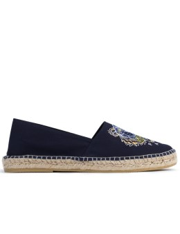 KENZO Slit Canvas Tiger Espadrille Picture