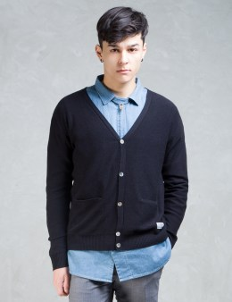 SILAS Black Basic Knit Cardigan Picture