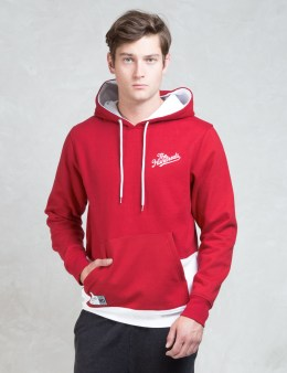 The Hundreds Red Miles Pullover Hoodie Picture