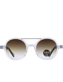 KOMONO Clear/silver Metal Vivien Sunglasses Picture