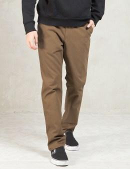 Carhartt WORK IN PROGRESS Hamilton Brown Rigid Club Pants Picture