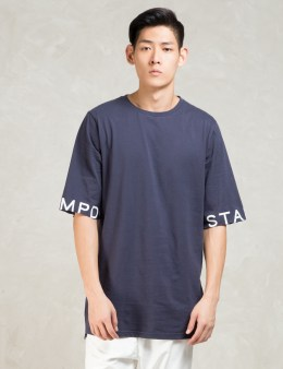 STAMPD Navy 3/4 Sleeve T-Shirt Picture