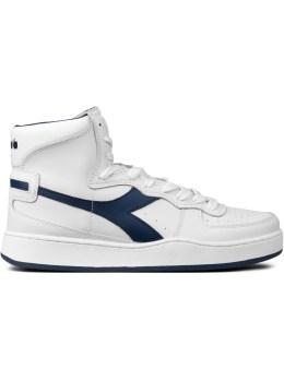 DIADORA White Mi Basket Sneakers Picture