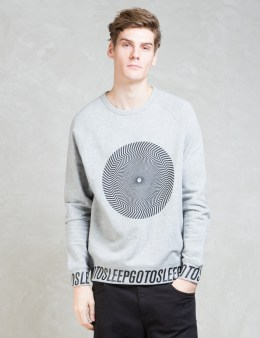 Cheap Monday Hypno Wheel + Go To Sleep Rules Sweatshirt Picture