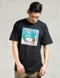The Hundreds Black El Fresco T-shirt Picture