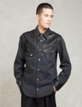 Sasquatchfabrix. Black Western L/s Shirts Picutre