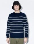 DELUXE Navy Aquatic Sweater Picture