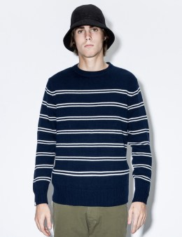 DELUXE Navy Aquatic Sweater Picture