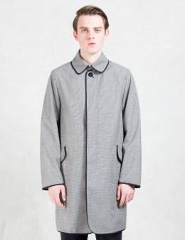 MAISON KITSUNE Linen Ted Rib Mac Coat Picture