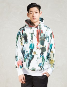 "thisisneverthat Multicolor ""Back' Pullover Hoodie Picture"