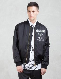 MOSCHINO Moschino Logo Bomber Jacket Picture