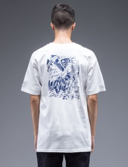 FUCT White Due In Time Biker T-Shirt Picture
