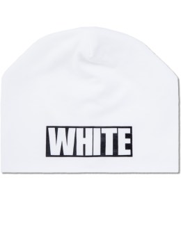 White Mountaineering Printed Beanie Cap Picture