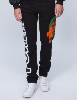 MOSCHINO Head Print Jeans Picture