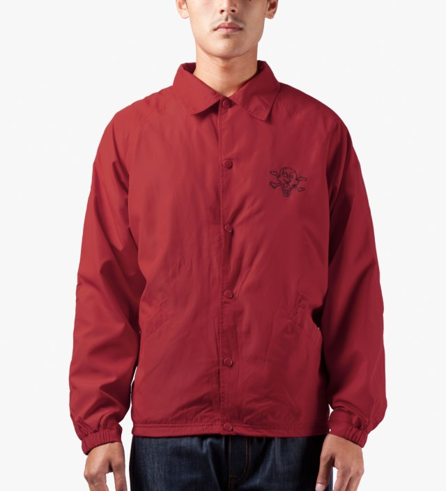 ICECREAM Chinese Red Cone Bar Coach Jacket