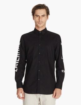 ZANEROBE Black Sln 7ft L/s Shirt Picture