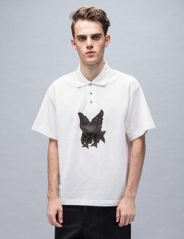 XANDER ZHOU S/S Polo With Bird Embroidery Picture