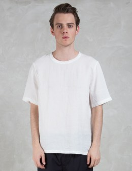 Our Legacy Dune Linen Weaved S/S T-shirt Picture
