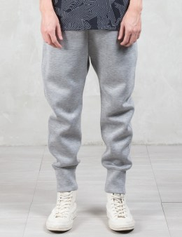 HELMUT LANG Sponge Fleece Curved Leg Track Pants Picture