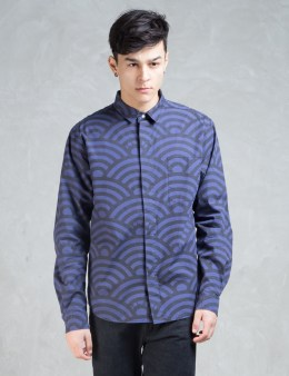 CLOT Overall Wave Pattern Shirt Picture