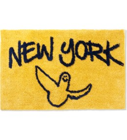 SECOND LAB Yellow/Navy Gonz NY Rug Picture