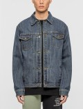 10.Deep Steel Toe Denim Jacket Picutre