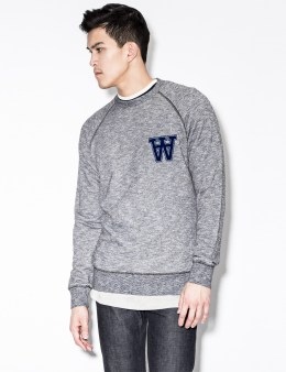 Wood Wood Black Jaspe James Sweater Picture