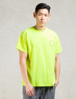 10.DEEP Yellow S/S Circle Stack T-Shirt Picture