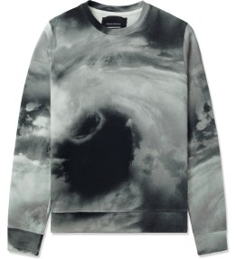 Tourne de Transmission White/Black/Grey Storm Sweater Picture