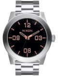 Nixon Corporal SS with Rose Gold Dial Picture