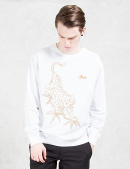 maharishi Line Tiger Crew Sweat Picture