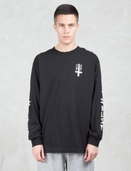 HUF Huf x 420 Ashes To Ashes L/S T-Shirt Picture