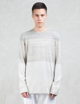 HELMUT LANG Gradient Heather Terry L/S Sweatshirt Picture