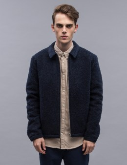 Norse Projects Elliot Melange Wool Fleece Jacket Picture