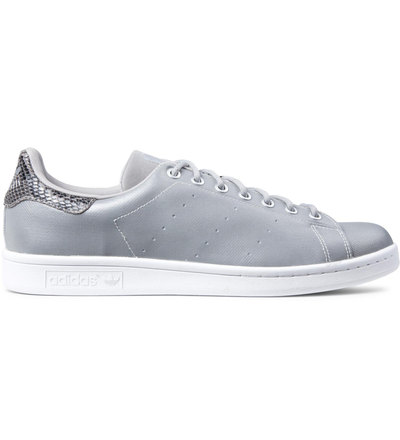 adidas originals silver stan smith m17918 shoes hbx. Black Bedroom Furniture Sets. Home Design Ideas