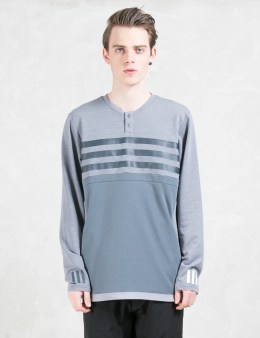 adidas Originals adidas Originals x White Mountaineering Wm Henleyneck L/s T-shirt Picture