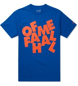 HALL OF FAME Royal Blue Stacked T-Shirt Picture