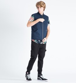 HUF Navy Bandana Reversible Vest Picture