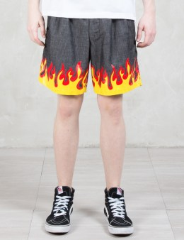 BlackEyePatch Flame Shorts Picture