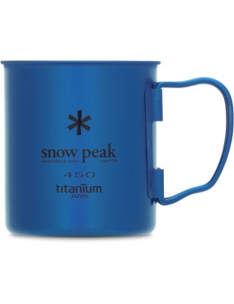 snow peak Titanium Single Wall 450 Colored Cup Picture
