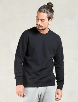 REIGNING CHAMP Black Core Crewneck Picture