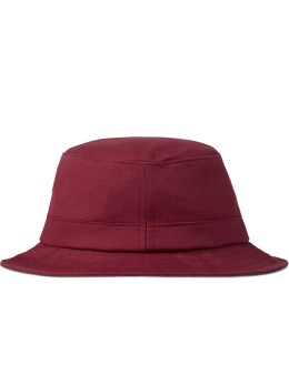 HUF Red Canvas Bucket Hat Picture
