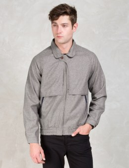 Commune De Paris Grey Augueste Jacket Picture