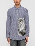 MSGM Barrett Stripe Mix Shirt Picture