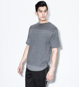 """VAINL ARCHIVE Black """"Indigo"""" T-Shirt Picture"""