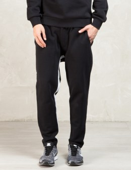 AMH Black Jersey Trousers Picture